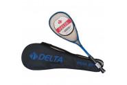 Delta Peak 27 İnç Tek Parça Çantalı Squash Raketi