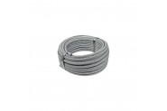 Fittings 1 Metre 4-6 Mm İzoleli Çelik Halat 4 Adet Klaments