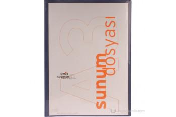 Umix Standart Sunum Dosyası A3 40lı