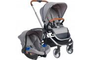 Bagi Easyfold Travel Sistem Bebek Arabasıl Chorome Silver - Gri