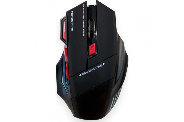 Coverzone Saywin RX-7S 3200 Dpi Oyuncu Gaming Mouse - Siyah