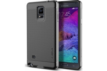 Iron Shield - Samsung Galaxy Note 4 Silver
