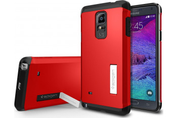Tough Armor Galaxy Note 4 Electric Red