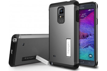 Tough Armor - Galaxy Note 4 Gunmetal