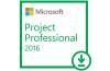 Microsoft Project Professional 2016 Dijital İndirilebilir Lisans H30-05445
