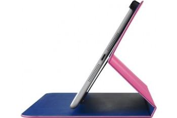 Trust Aeroo Ultrathin Folio Stand iPad Mini - Pembe/Mavi