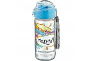 Renga Cam Su Matarası Mavi 500 ml