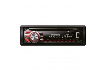 Pioneer DEH-1600UB CD/MP3/WMA/WAV Çalar RDs 4x50W RCA Ön AUX Ön UsB AsR Kırmızı Tuşlar