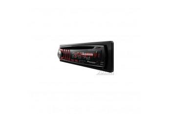 Pioneer DEH-6300sD CD/MP3/WMA/WAV/AAC Çalar RDs 4x50W Beyaz LCD Ekran Kırmızı Tuş