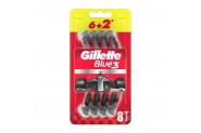 Gillette Blue3 Nitro Tıraş Bıçağı 6+2'li