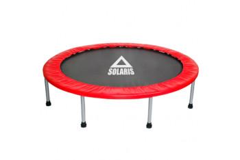 Solaris 102 cm Deluxe Kırmızı Trampolin 40 inç Trambolin
