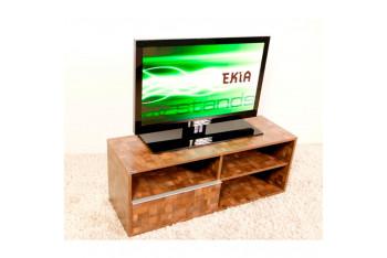 """Ekia EK-409 U-9 32"""" - 46"""" sacremento Meşe 120cm TV sehpası"""