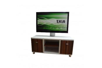 U1-K 32 50 Kahve- Beyaz Tv sehpası