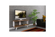 Cantek Light Tv Ünitesi Ceviz-Beyaz