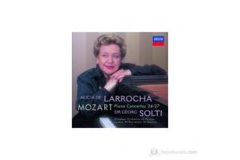 Alicia De Larrocha - Mozart Piano Concertos Nos24-27