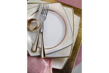 Pierre Cardin Tessa Gold Yemek Takımı