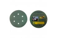 Nikon 52049 Kırılmaz Yeşil Cırt Zımpara 150X150 Kum 6 Delikli